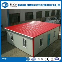 La Chine offre des couleurs personnalisées maison modulaires en acier préfabriqués