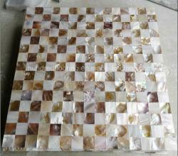 Mère naturelle de Pearl Shell mosaïque (PGH91)