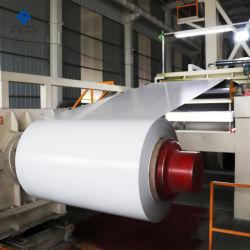 PE/PVDF Rollen van het Aluminium/van het Aluminium van de Deklaag van de Kleur van de verf de Witte voor het Geperforeerde Plafond van de Strook