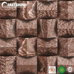 Real 3D Diseño de piedra de papel de pared para el hogar (250 g/m² 106cm*10M)