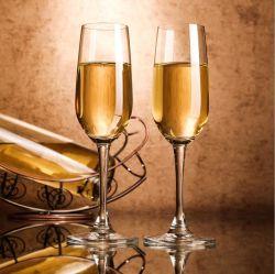 165-210мл элегантный дизайн и превосходное качество подаваемого рукой Crystal шампанское флейты стекла