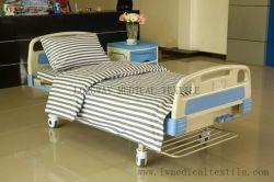 F6 Y - 16 2cm 회색 흰색 줄 코튼 병원 침대 시트