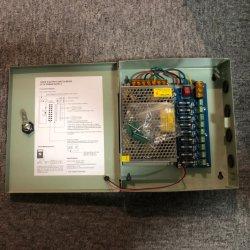 12 В постоянного тока 5 А 10A 20A 30A 5 9 18 каналов центральных систем видеонаблюдения и переключение между камерами адаптер питания металлическую коробку с маркировкой CE