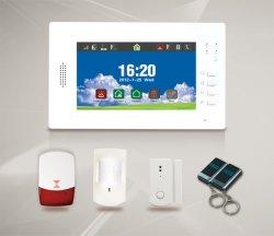 Système d'alarme GSM sans fil câblé pour la maison de la sécurité (ES-X6)