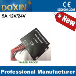 5A 12V/24V Automatically MPPT Solar Charge Controller voor Zonnestelsel