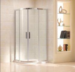 A melhor qualidade de banho de chuveiro em vidro temperado Box (C11)