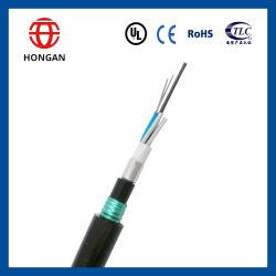 Sepultado el Cable Óptico GYTA53 132 para el exterior de Fibra Óptica FTTH Comunicación