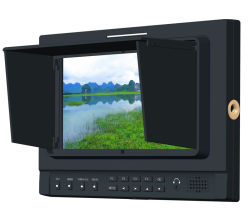 "La pantalla IPS de 7"" DSLR 3G-SDI MONITOR Broadcast para 5dii cámara"