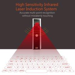 2019년 OEM 최고 크리스마스 선물 콤팩트 휴대용 Laser 사실상 키보드 무선 Bluetooth 빠른 연결