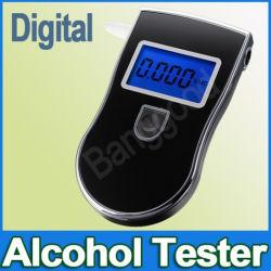 Le souffle de l'alcool portable testeur analyseur ivressomètre avec écran LCD numérique