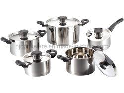 10PCS Cookware Sets Made des Edelstahls