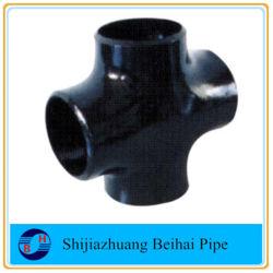 Acciaio al carbonio di ASTM A234wpb che misura la traversa del tubo Sch40