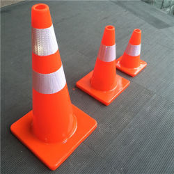 28'' do Cone de tráfego de PVC, , a segurança rodoviária com marcação CE