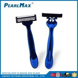 Trois lames de la barbe des outils de rasage