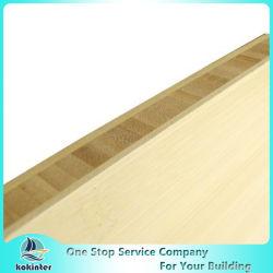 Vertical sola capa de 4 mm Natural borde del panel de bambú veteado para Muebles / Plano de trabajo / Suelo / monopatín