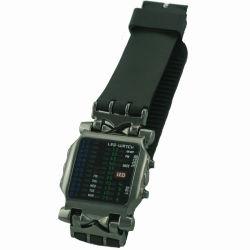 LEDライトショーの時間(mic312)の普及したスポーツの腕時計