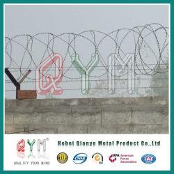 430 fio navalha-acordeão galvanizado médios/ Prisão Barreira de Segurança