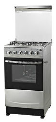 Stainless pieno Steel Stove Oven di 4 Gas Burners