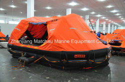 Davit lanzó Reglamento SOLAS Auto Balance balsa salvavidas inflables