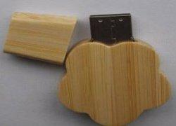 محرك أقراص فلاش USB مخصص من Wooden Flower مع جودة عالية
