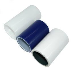 De blauwe/Transparante/zwart-Witte Verwijderbare PE Beschermende Bladen van de Film