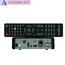 Zgemma H9t 4K UHD Fernsehapparat-Kasten-Linux OS E2 Multistream mit einem DVB-T2/C Tuner-Stützquart-Jäger IPTV