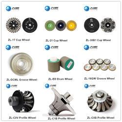 Z-Лев Diamond полимера Turbo чашки шлифовальные абразивные профиля колеса для камня конкретные стекла керамические кромки отсечной металлический шлифовальный круг из нержавеющей стали для полировки резки
