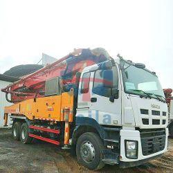 2017年のSanyは47mトラックによって取付けられたブームポンプを使用した