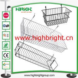 Étagère en acier d'accessoires de Wire Mesh Hanging Basket
