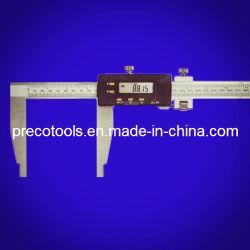 Heavy Duty calibrador Vernier electrónico digital, con el ajuste fino