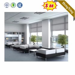 中国の卸し売り家庭内オフィスの家具の居間のコーナーの革リクライニングチェアのソファーセット