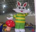 Modelo de conejo inflable con tamaño personalizado para la venta