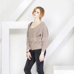 숙녀 형식 캐시미어 천 Sweater16braw304
