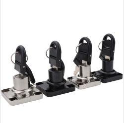 Alliage de zinc de gros / meubles en acier penderie Classeur Verrous de sécurité de verrouillage de tiroir