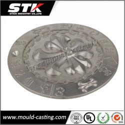 Personalizar el logotipo de moldeado a presión de aleación de zinc para la placa (STK-ZDO0008)