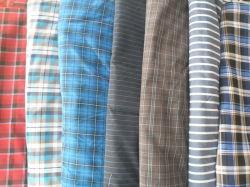 Divers modèles fils teints tissu chemise avec une bonne solidité des couleurs