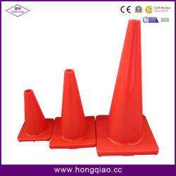 91cm en PVC de color naranja conos de tráfico señal de tráfico