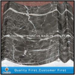 Полированный китайский повесить серым мрамором линия границы плитки для декоративной