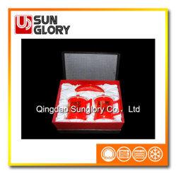 L'autocollant rouge Bone China tasse avec boîte cadeau de GB005