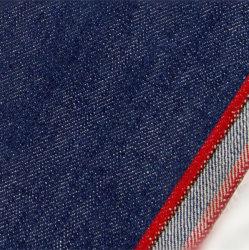 16oz de basisStof W0563 van de Jeans van de Kleur van het Denim van de Rand Blauwe