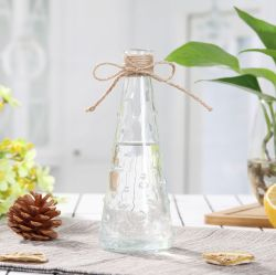 Home decoration Craft Gift Crystal Clear Glass Flower vase