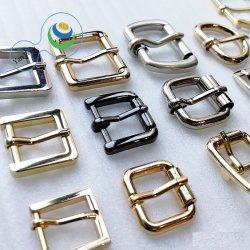 Aolly Metal hebilla del cinturón ajustable para el hombre/mujer de Womem Personalizar la bolsa de cuero/hebilla