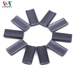 강한 단단한 바륨 스트론튬 도와 아크 세그먼트 펌프 스피커 모터 알파철 세라믹 자석