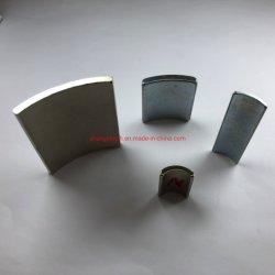 De sterke Magnetisering Gebogen Magneet van het Neodymium van de Boog NdFeB voor de Turbines van de Wind
