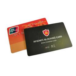 Kreditkartenschutz RFID-Sperrkarte NFC-Signale schützen vor Zahlung