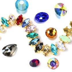 [ك9] ميل بيع بالجملة [رهينستون] لأنّ مجوهرات بلّوريّة