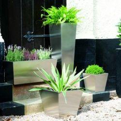 Flowerpot Flor de Metal Rack do Potenciômetro da plantadeira para Casa Garden