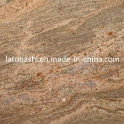 Granito barata para pavimentação em mosaico de pedra/Fachada-Azulejos do piso/lajes
