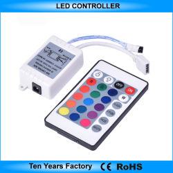 Télécommande infrarouge touche Contrôleur 24Bande LED