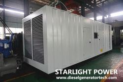 640квт Silent Электроподогревателя звуконепроницаемых генератор на базе двигателя Perkins 4006-23tag3a
